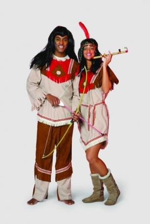 Indianerin Mohawk Fasching Karneval Mottoparty Kostüm