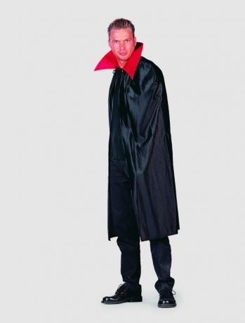 Draculacape mit rotem Kragen Halloween Karneval Fasching