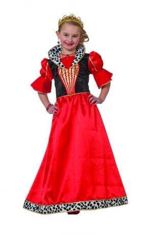 Queeny Kleid Kostüm Prinzessin Königin Faschingskostüm Kinderfest