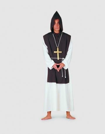 Mönch Priester Kloster Geistlicher Karneval Fasching Mottoparty