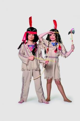 Indianer Sioux Kinderfasching Kinderkostüm Karneval