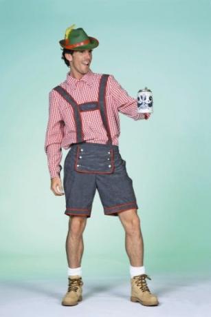 Tiroler Hose Trachtenhose Kniebundhose Seppl Oktoberfest Wiesn
