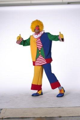 Clown Zirkus Karneval Fasching Mottoparty Herrenkostüm