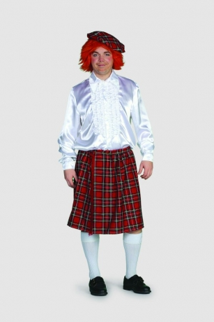 Schottenrock Fasching Karneval Mottoparty Herrenkostüm