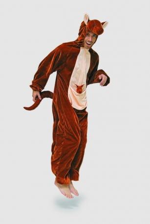 Känguruh Herrenkostüm Fasching Karneval Tierkostüm