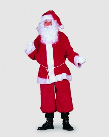 Weihnachtsmann Plüsch Nikolaus Santa Claus Heiligabend