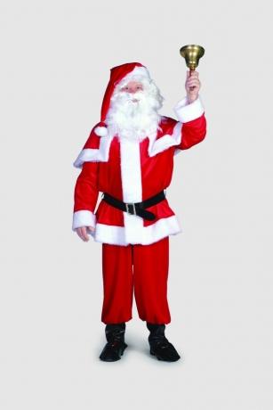 Weihnachtsmann Velours Nikolaus Santa Claus Heiligabend
