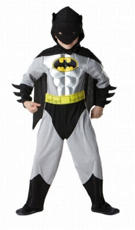 Batman Metallic Child Kinderkostüm Superheld Heldenkostüm Verkleidung