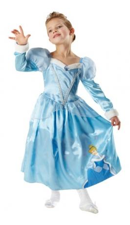Cinderella Winter Wonderland Märchenkostüm Mädchen Faschingskostüm