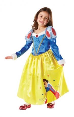Snow White Märchenfrau Winterkostüm Winter Wonderland Kinderparty