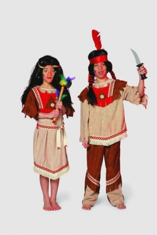 Indianer Mohawk Kinderfasching Karneval Mottoparty
