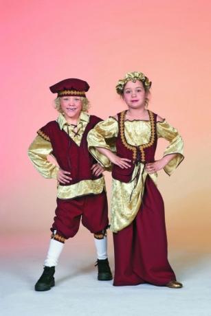 Mittelalter Tavernenhilfe Karneval Fasching Mädchen 128