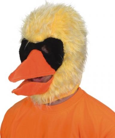 Vogel Mütze Plüsch Karneval Fasching Kostüm Party
