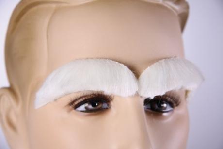 Nikolaus Weihnachtsmann selbstklebende Augenbrauen