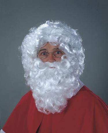 Nikolaus / Weihnachtsmann Nikolausperücke Weihnachten Made in Germany