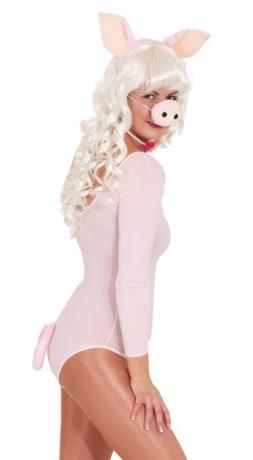 Schwein Schweine-Set Karneval Fasching Kostüm Party