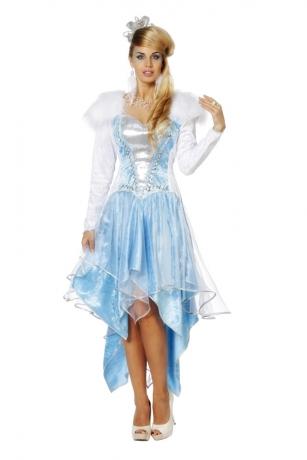 Eiskönigin Eisprinzessin Frozen Kleid 34 - 48