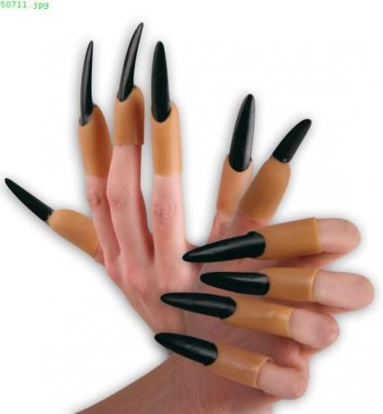 Fingernägel Hexe Vampirin Karneval Halloween Party