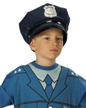 Polizeimütze Polizei blau Karneval Fasching Kostüm