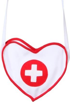 Krankenschwestertasche Accessoires Fasching Karneval Tasche Zubehör
