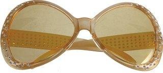 Brille Trendy Hippiebrille Faschingsbrille 70er Jahre Sonnenbrille