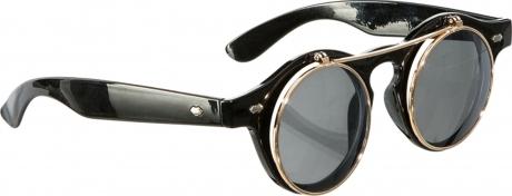 Steampunk Steampunkbrille hochklappbare Gläser