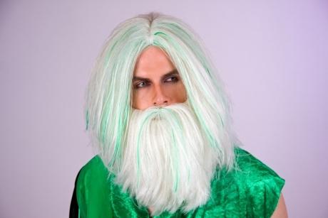 Neptun Bart Accessoires Zubehör Karneval Fasching