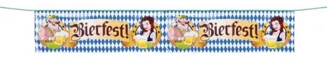 Banner Flagge Bierfest Oktoberfest Straßenbanner Grundpreis 7,78¤/qm