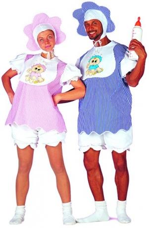 Baby Kostüm Junggesellenabschied  Herren Karneval Fasching Kostüm
