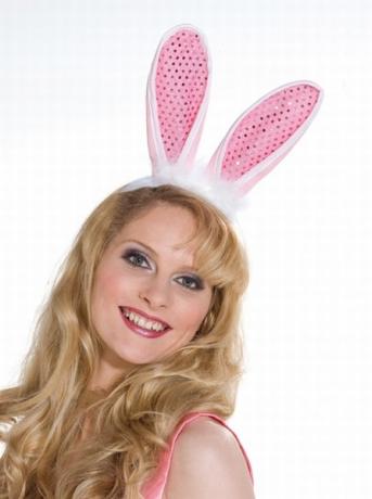 Hase Hasenohren Osterhase Karneval Fasching Kostüm
