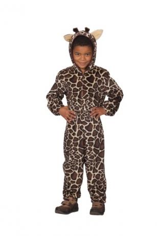 Giraffe Overall Tierkostüm Kinderkostüm Faschingskostüm Karneval Verkl