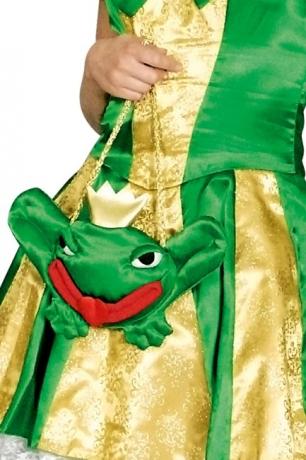 Froschtasche Zubehör Faschingsparty Kostümfest Tasche Handtasche