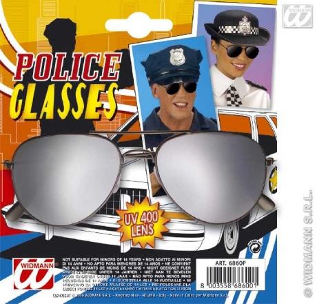 Spiegelbrille Polizei Kult Brille aus den 80er Jahre