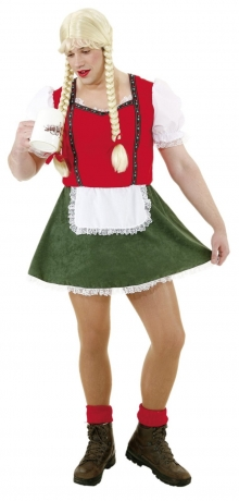 Dirndl Junggesellenabschied Party Spass Karneval