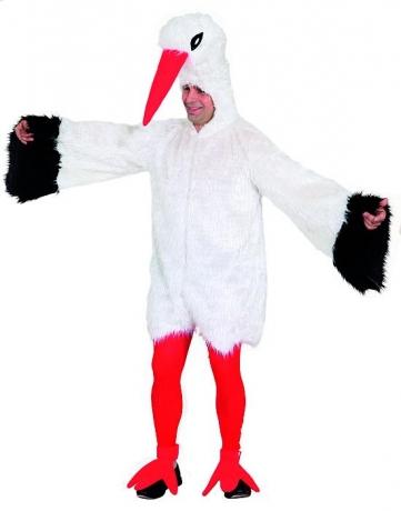Storch Kostüm Karneval Fasching Junggesellenabschied