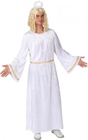 Engelkleid Engelskleid für Herren Weihnachten Krippenspiel Feier