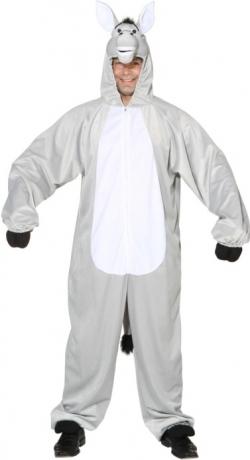 Esel Overall Tierkostüm Herren Karneval Maskottchen