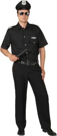 Police Man Polizist Herrenkostüm Karneval Fasching