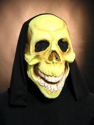 Tod mit Kaputze Horror Halloween Maske Karneval Party