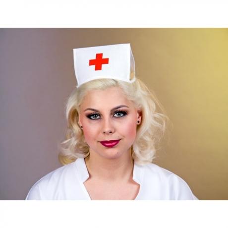 Krankenschwester Schwesternhäubchen Karneval Fasching