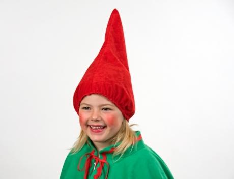 Zwergenmütze Wichtelmütze Kindermütze rot oder grün Gnom