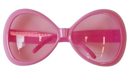 XXL Brille rosa
