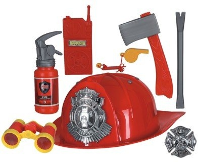Feuerwehr Feuerwehrkostüm 8 teiliges Set Kinder