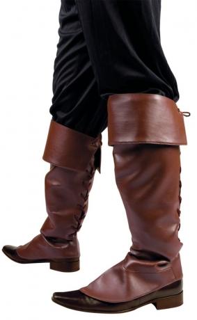 Gamaschen braun Stiefelstulpen Stiefelgamaschen