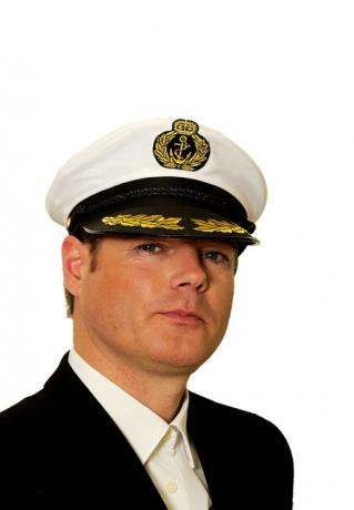 Kapitänsmütze Kapitän Schifffahrt Segler Marine Offizier