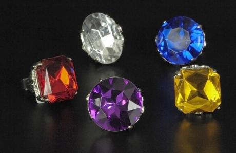 Prachtvolle Ringe Klunker 4 Stück Macho Lude Proll 70er Jahre König