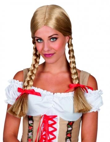 Heidi Damenperücke Zopfperücke Resiperücke Wiesnperücke Oktoberfest