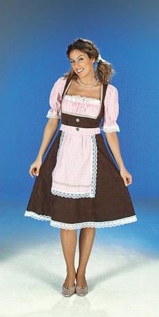 Dirndl Bavaria Oktoberfest Karneval Fasching Kostüm