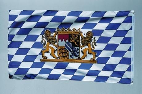 Bayern Oktoberfest Fahne Bayrischer Abend Karneval Party