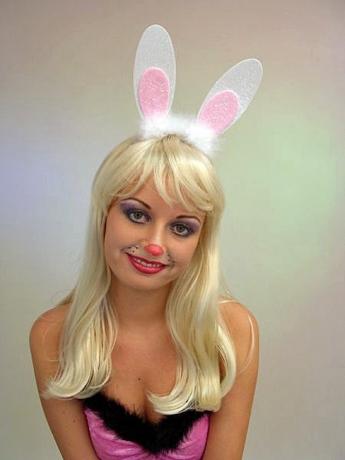 Hase Hasenohren Bunny Ostern Fasching Kostüm Party